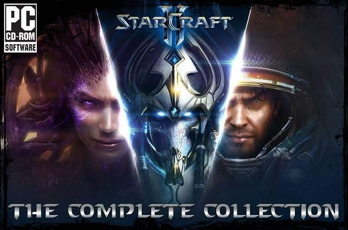 STARCRAFT II: Wings of Liberty, Heart of the Swarm, Legacy of the Void, Mission Pack