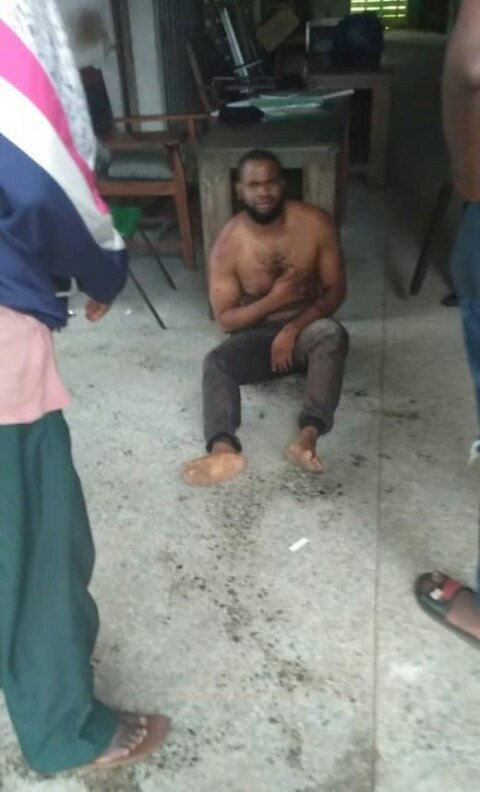 [VIDEO] FUTO Undergraduate Caught While Trying To Use His Colleague For Money Ritual