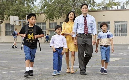 Los Huang, al final del episodio piloto de Fresh Off the Boat