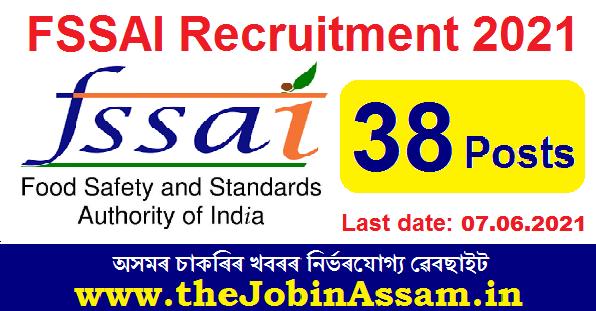 FSSAI Recruitment 2021: Apply for 38 Director & Manager Vacancy