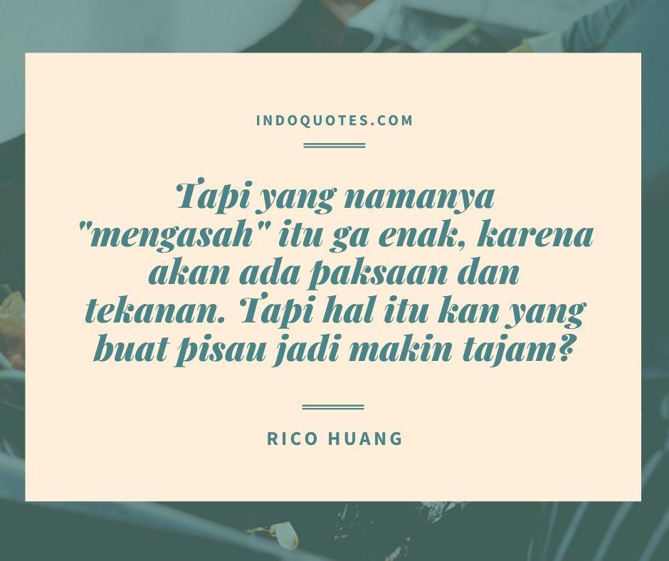 kata mutiara, quotes, motivasi rico huang