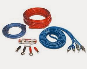 Tips Audio Mobil penguat kabel kit