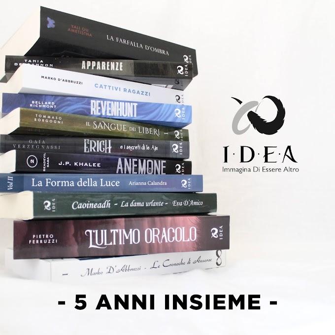 5 anni insieme | Le offerte di marzo di I.D.E.A Edizioni