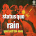Tune of the Day,   Status quo - Rain