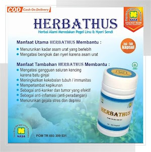 Herbathus Mengatasi Pegel Linu Nyeri Sendi