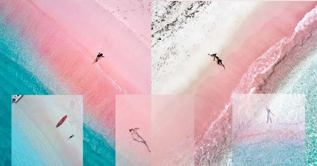 Foto-foto Netizen di Pink Beach Komodo - Flores