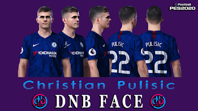 PES 2020 Faces Christian Pulisic by DNB