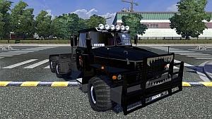 Ural 43202 black edit