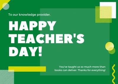 5 सितंबर को शिक्षक दिवस क्यों मनाया जाता है?
