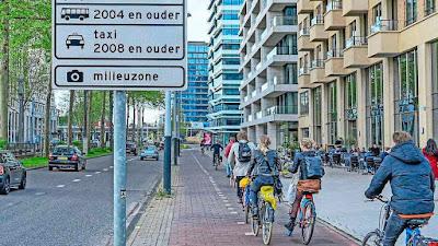 حظر دخول  سيارات الديزل المصنوعة قبل 2006 إلى أمستردام