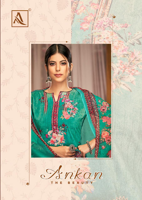 Alok Suits Ankan Velvet Viscose  Salwar Kameez Wholesaler