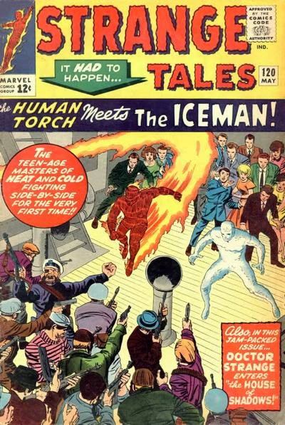 Strange Tales #120, The Human Torch and the Iceman