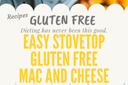Easy Stovetop Mac and Cheese Gluten free #glutenfree