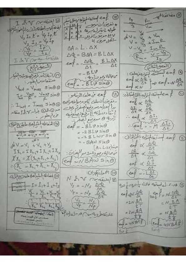 كل قوانين الفيزياء لثالثة ثانوي أ/ علاء رضوان 0%2B%25287%2529