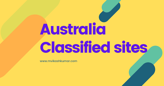 Top 50+ Free Australian Classified Sites List 2020  [ Manual Checked ]