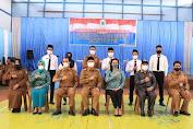 Wabup Kapuas Hulu Wahyudi Hidayat Lantik BPD se-Kecamatan Bunut Hulu