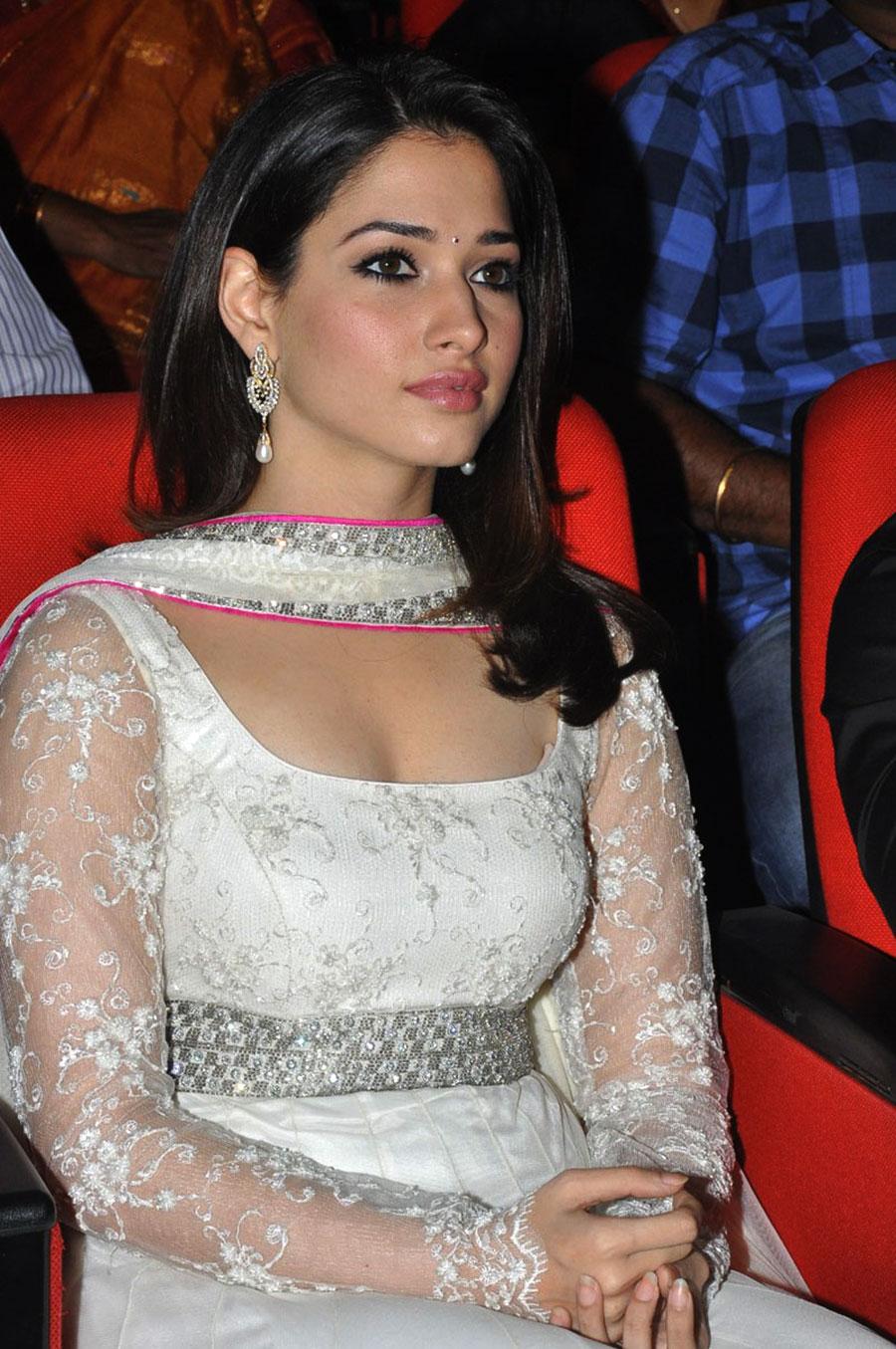 splendid gorgeous fair cute Tamanna bhatia new hot pics at tadakha music launch