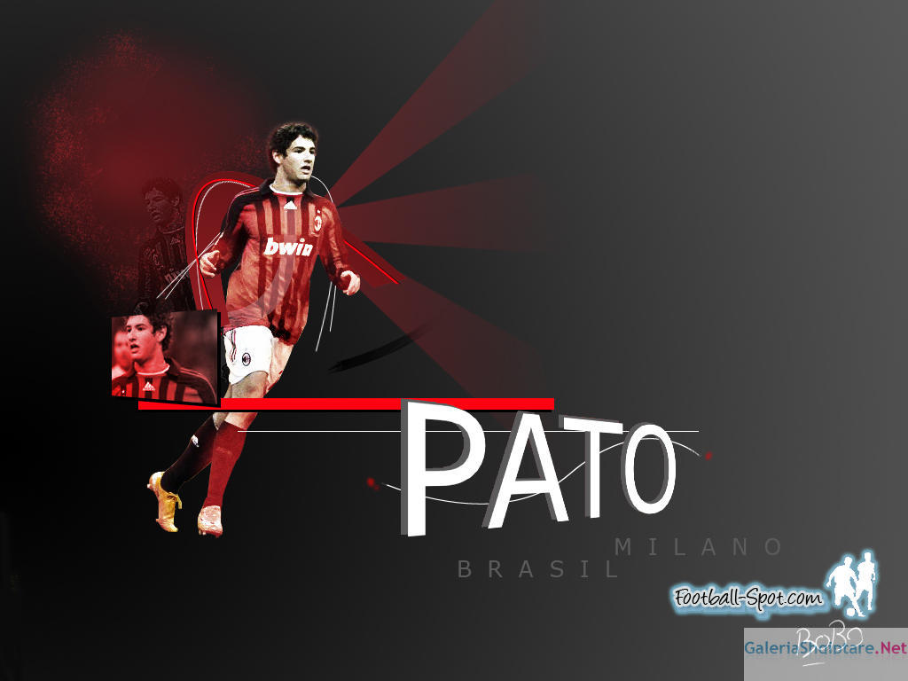 Top Football Players Alexandre Pato Wallpaper