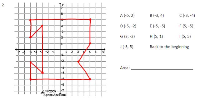 Miss Kahrimanis's Blog: Irregular figures on a Grid