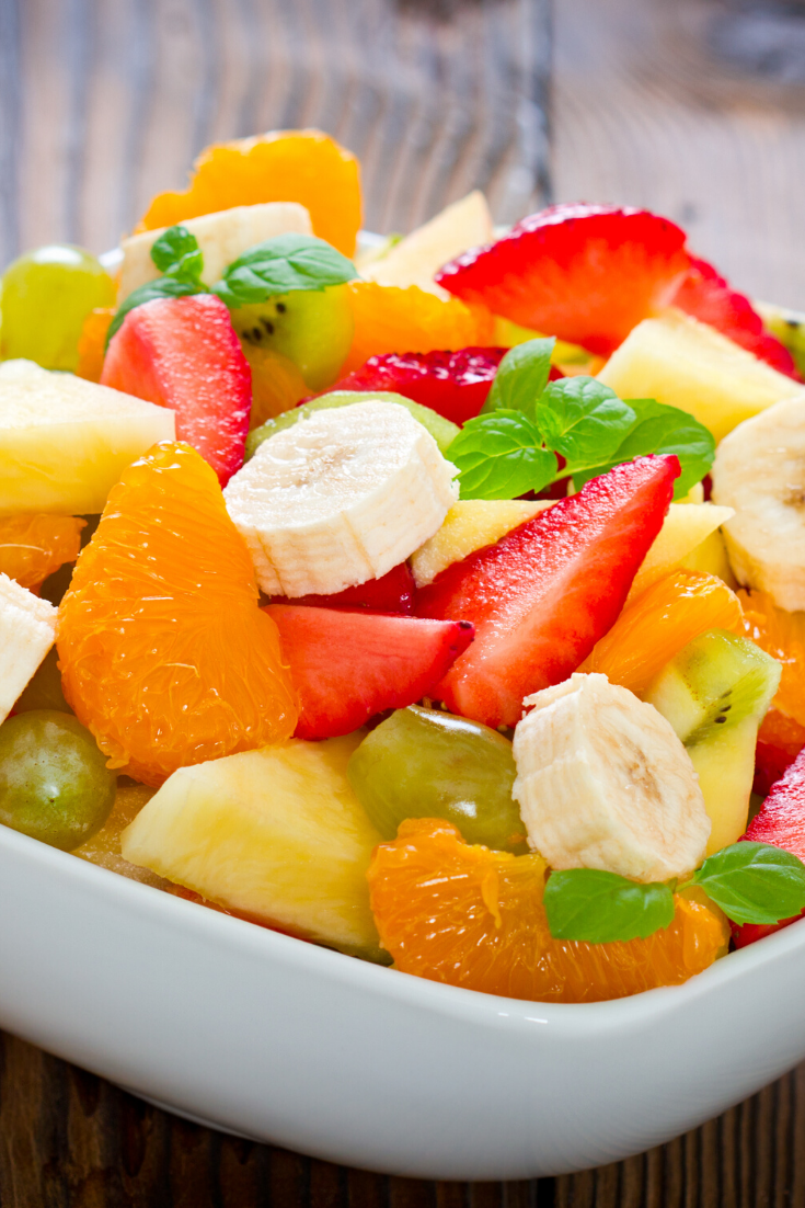 fruit recipes- the best fruit salad . This delightful fruit salsa is just the perfect balance of sweet and refreshing fresh fruit. A completely fun appetizer or an after dinner dessert, you cannot go wrong with these favorite fruits chopped up and served to a pleased crowd on crunchy homemade cinnamon chips.