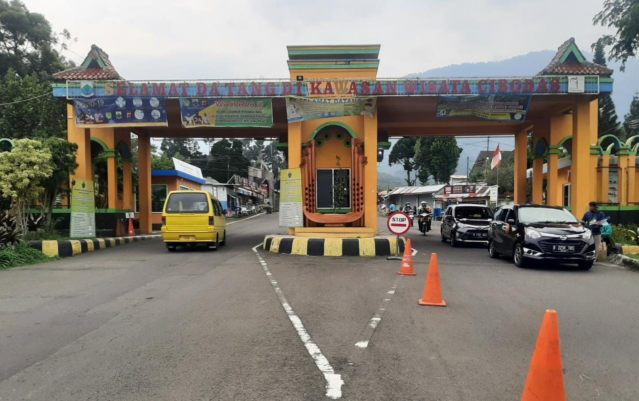 Jakarta PSBB, Tourist Visits in Cibodas Decrease
