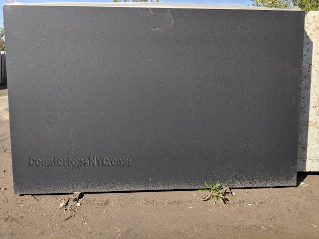 Honed Absolute Black Granite Slab NYC