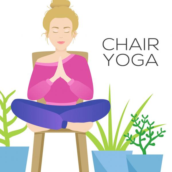 Dancing Cranes Yoga: Chair Yoga