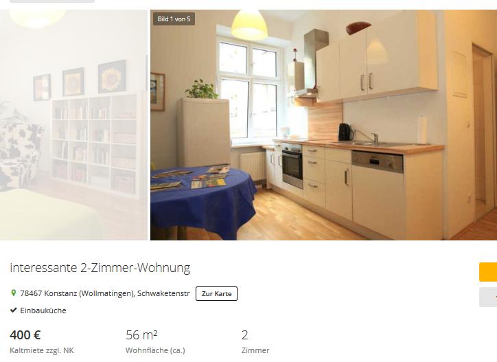 imme women at interessante 2 zimmer wohnung 78467. Black Bedroom Furniture Sets. Home Design Ideas