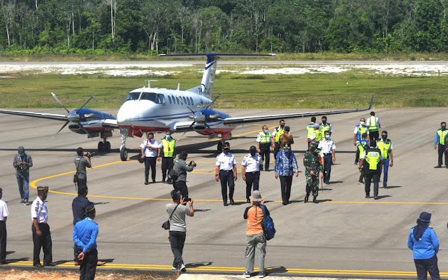 Peresmian Bandara Baru Haji Muhammad Sidik Dibatalkan