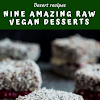 Nine Amazing Raw Vegan Desserts