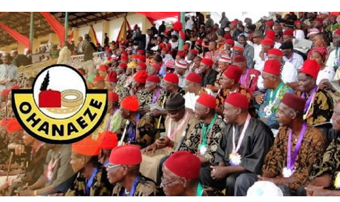 2023 Presidency: We are not moved by empty threats – Ohanaeze to Northern groups