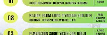 Hadirilah Kajian Rutin Masjid Jami Darunnajah Tarakan