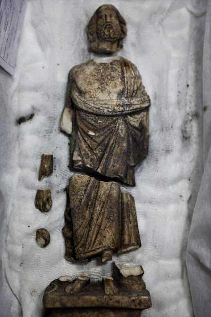 Serapis and Asklepios statues found in ancient city of Kibyra