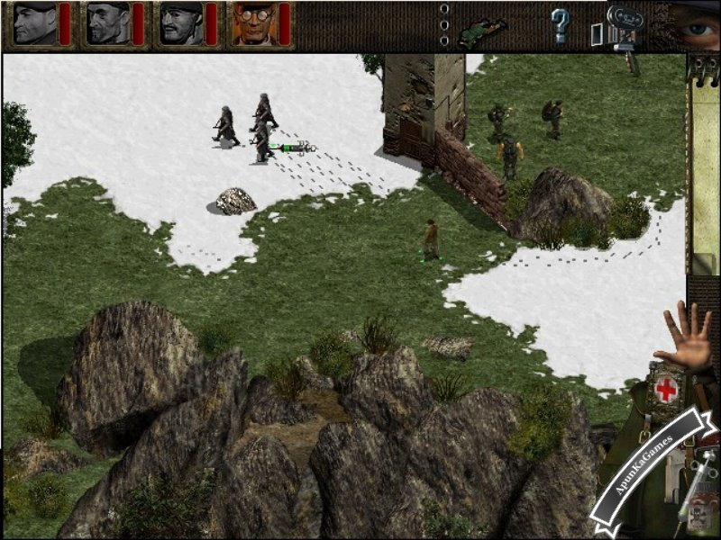 Commandos Behind Enemy Lines Screenshots