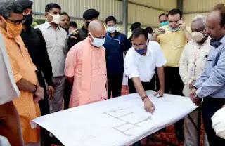 मुख्यमंत्री योगी ने शहंशाहपुर, जनपद वाराणसी स्थित विशाल गौशाला में स्थापित किये जा रहे बायोगैस प्लाण्ट का निरीक्षण कियामुख्यमंत्री योगी ने शहंशाहपुर, जनपद वाराणसी स्थित विशाल गौशाला में स्थापित किये जा रहे बायोगैस प्लाण्ट का निरीक्षण किया
