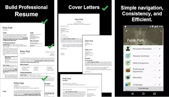 Aplikasi Membuat CV Lamaran Kerja Gratis Terbaik di Android-6