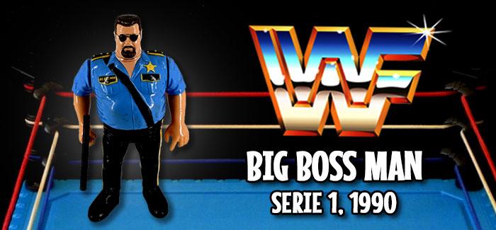 Figura Pressing Catch: Big Boss Man (Hasbro, 1990)