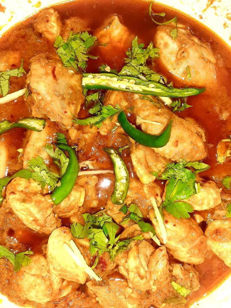 Chicken Kadai Recipes Ramadan Mubarak