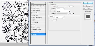 Cara Membuat Doodle Art Name