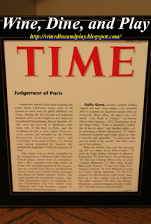 The article write-up for Château Montelena's 1976 Judgement of Paris winning in Time Magazine