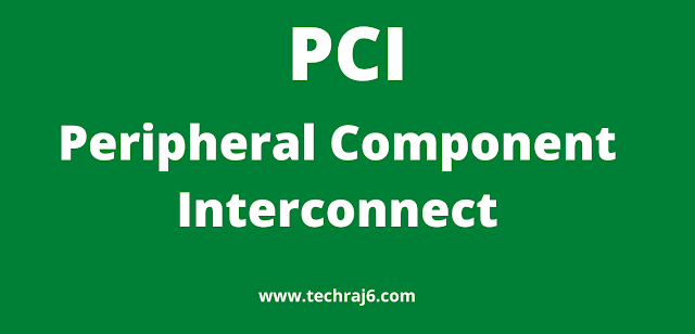 PCI full form, What is the full form of PCI