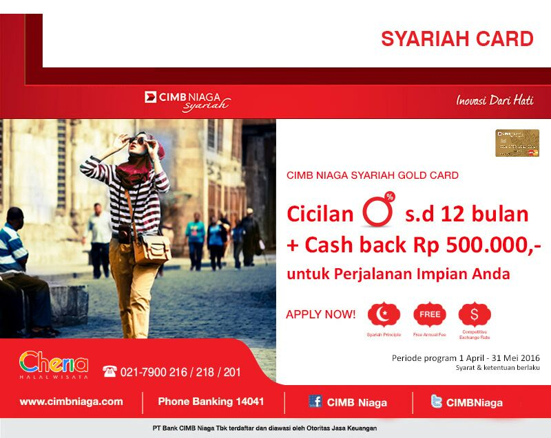 Program Dana Talangan Perjalanan Wisata Cheria Holiday