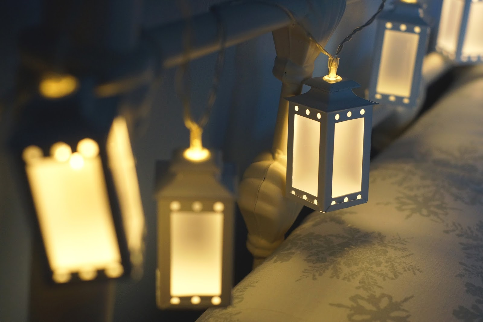 Hello Freckles Interior Lantern String Lights Asda