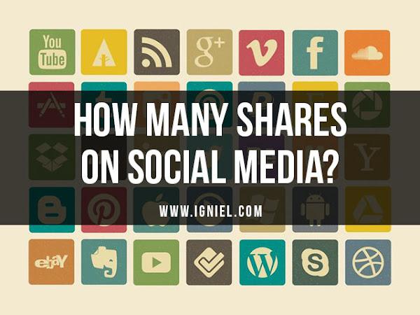 Cara Mengetahui Jumlah Share URL Blog Atau Artikel di Berbagai Media Sosial