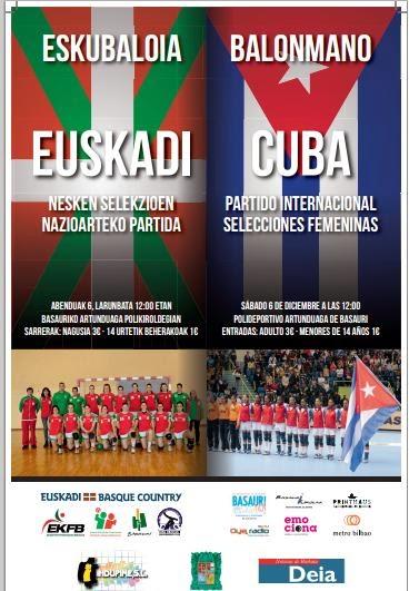 Gira de Cuba (fem) por España | Mundo Handball