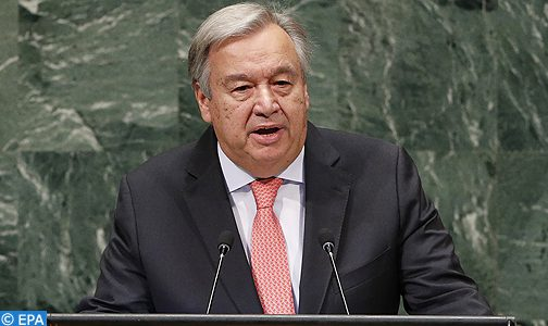 الأمين العام للأمم المتحدة يؤكد على مركزية مسلسل الموائد المستديرة حول الصحراء المغربية