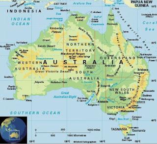 Batas-Batas Wilayah Benua Australia