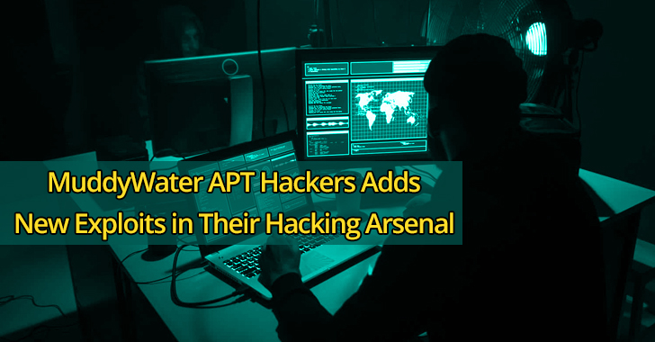 MuddyWater APT  - MuddyWater 2BAPT - MuddyWater APT Hackers Adds New Exploits in Their Hacking Arsenal