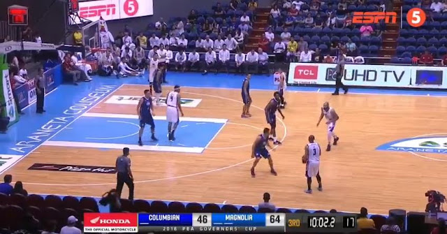 Video Playlist: Columbian vs Magnolia game replay 2018 PBA Governors' Cup