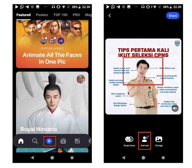 aplikasi reface buat android keren